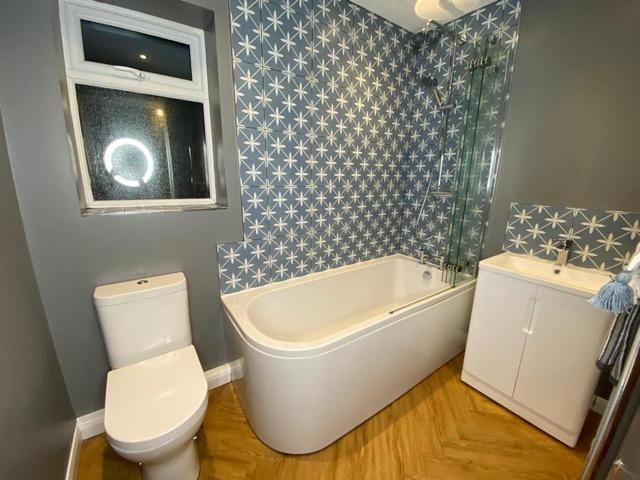 Practical layout in East Grinstead Bathroom