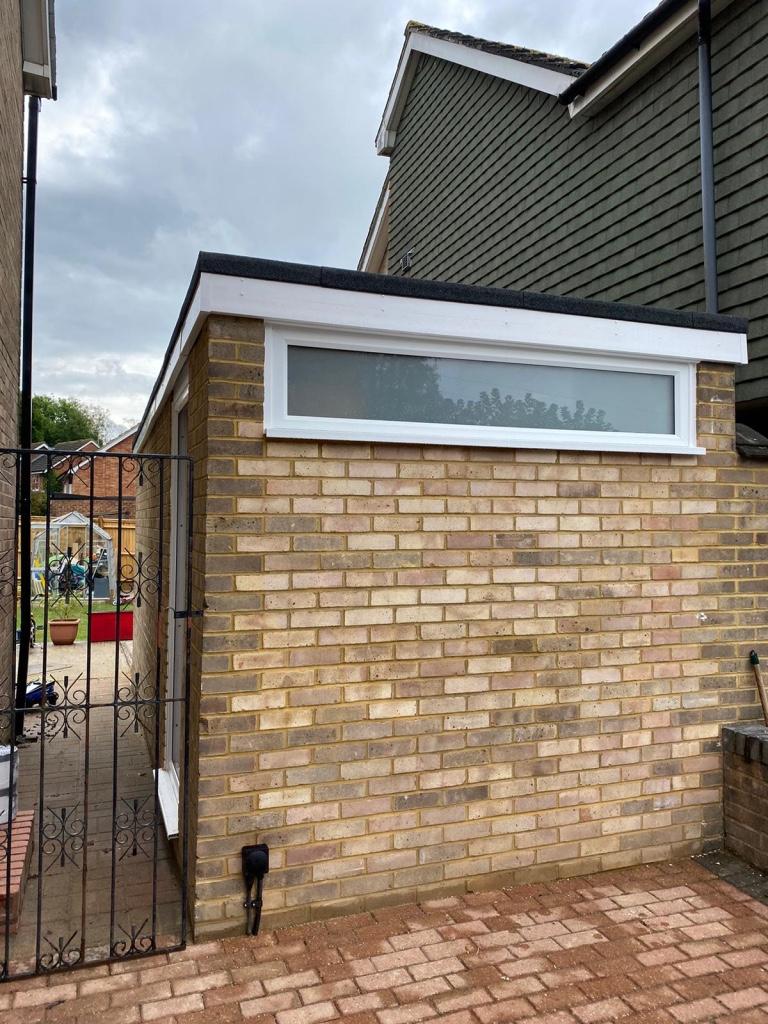 Glorious garage conversion in East Grinstead