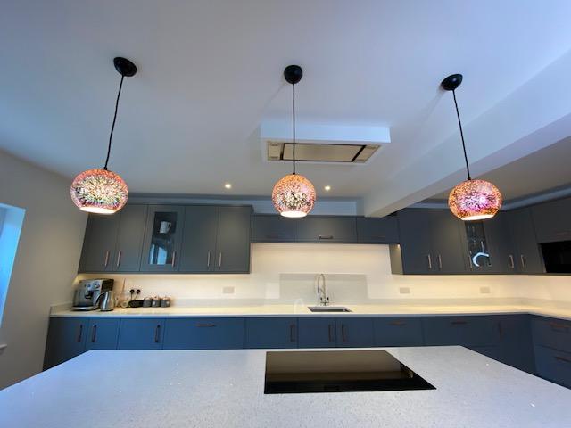 Bespoke kitchen lights