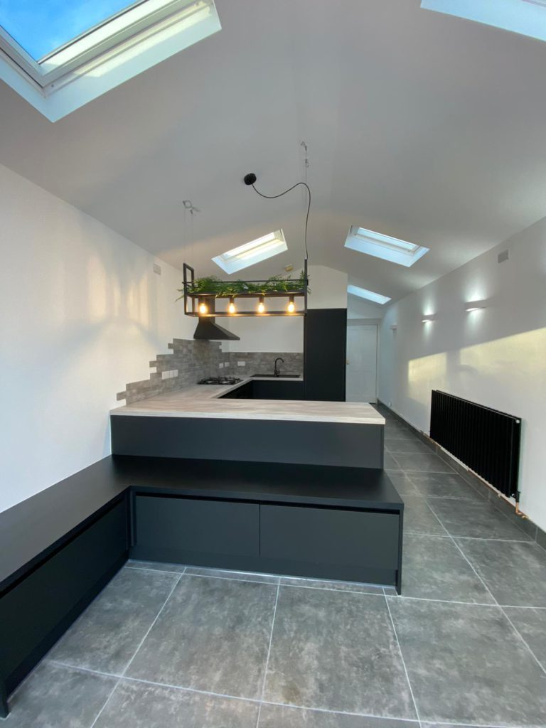 Modern extension in Horsham