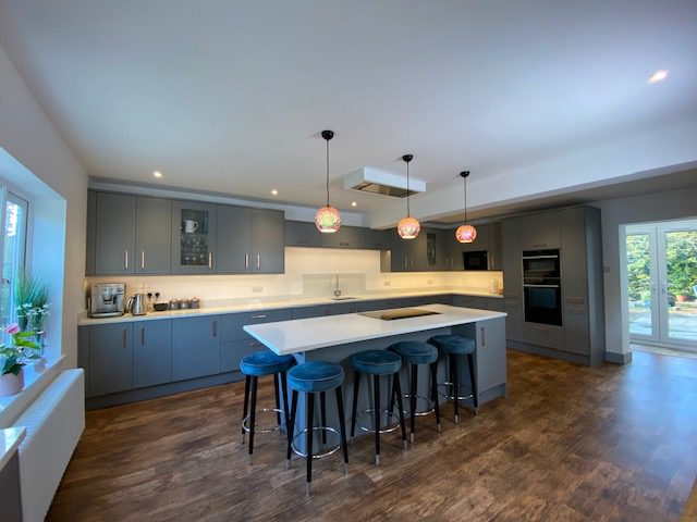 Super extension with new kitchen