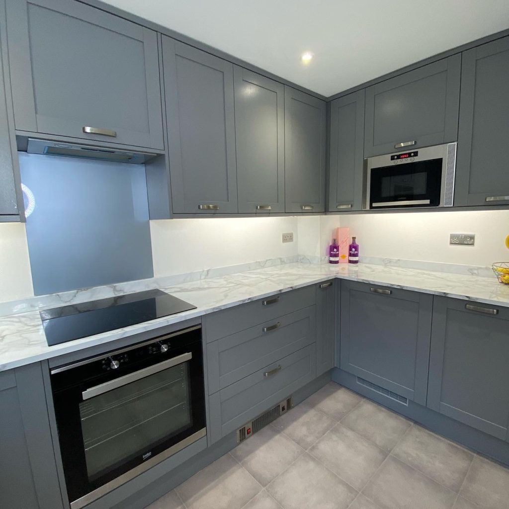Clever kitchen refurbishment in East Grinstead