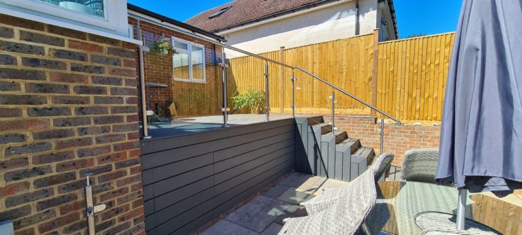 Landscaping and refurbishment project - steps
