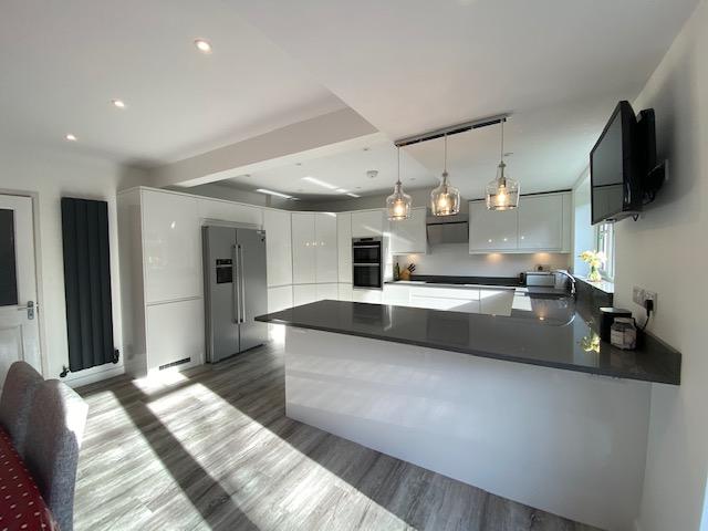 Refurbishment in East Grinstead - kitchen