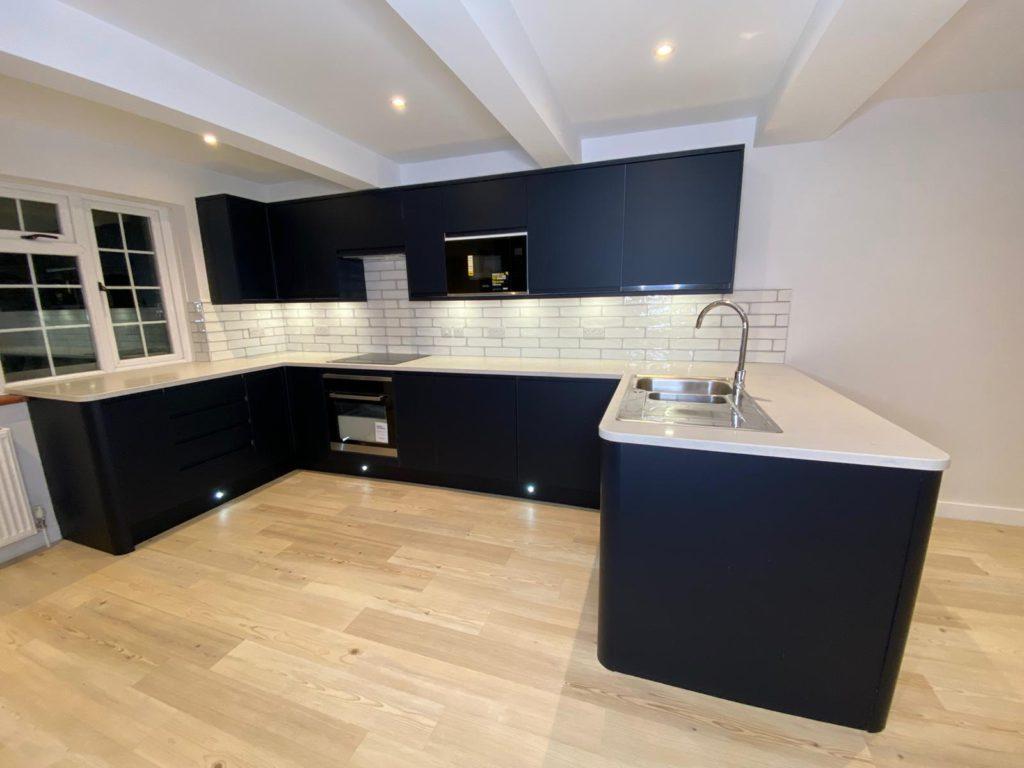 New stunning cottage refurbishment - kitchen
