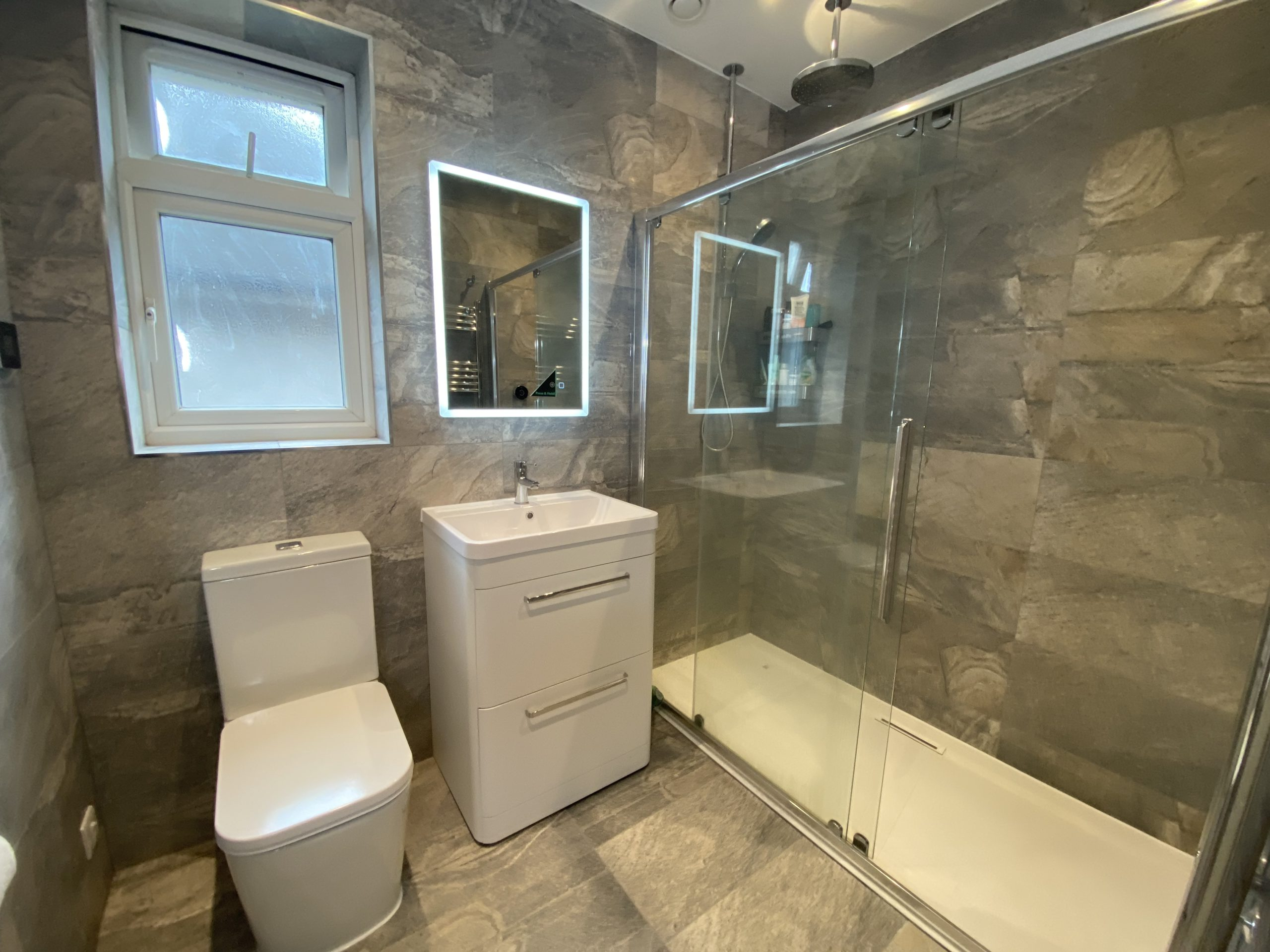 Family shower room and guest en-suite